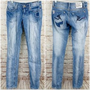 Express rerock limited edition skinny jeans